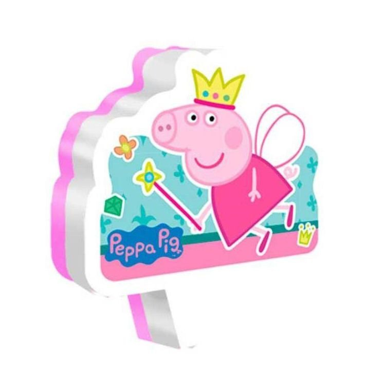 Vela Festa Peppa Pig - 01 unidade - Regina - Rizzo Festas
