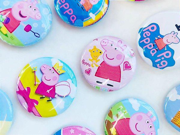 Bottom para Lembrancinha Festa Peppa Pig - 12 unidades - Rizzo Embalagens