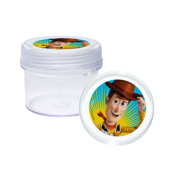 Potinho Acrílico Tampa Rosqueável 80ml Lembrancinha Festa Toy Story 4 - 20 unidades -  Rizzo Festas