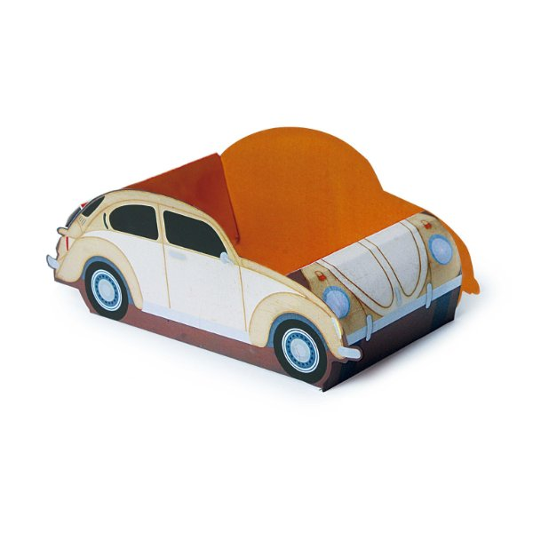 Cachepot Carro Festa Garage - 8 unidades - Cromus - Rizzo Festas