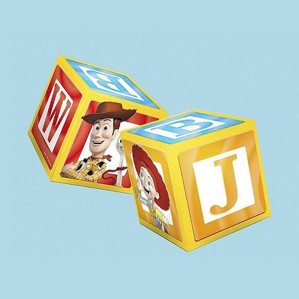 Caixa Cubo Festa Toy Story 4 - 3 unidades - Regina - Rizzo Festas
