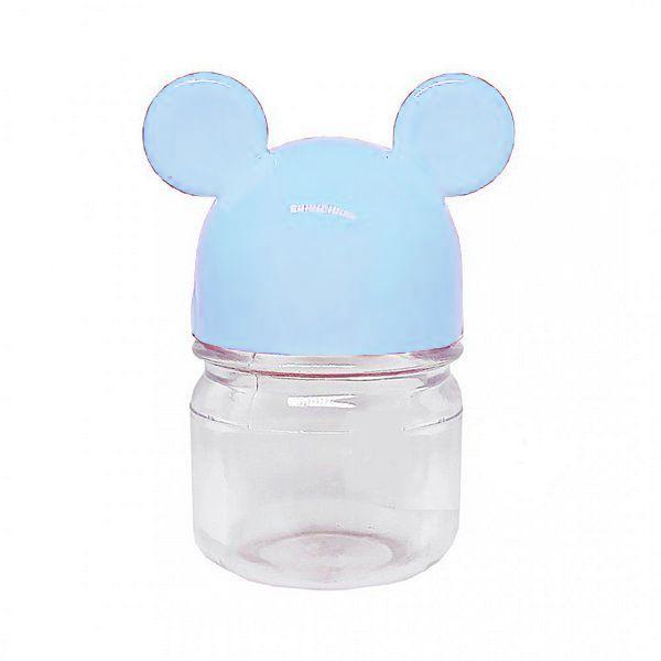 Potinho Festa Mickey Tampa Azul Claro 30ml - 6 Unidades - Rizzo Festas