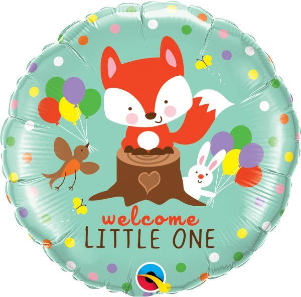 Balão Metalizado Aniversário Festa Bosque - 18'' - Qualatex - Rizzo festas