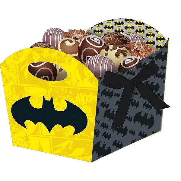 Cachepot Festa Batman Geek - 08 unidades - Festcolor - Rizzo Festas