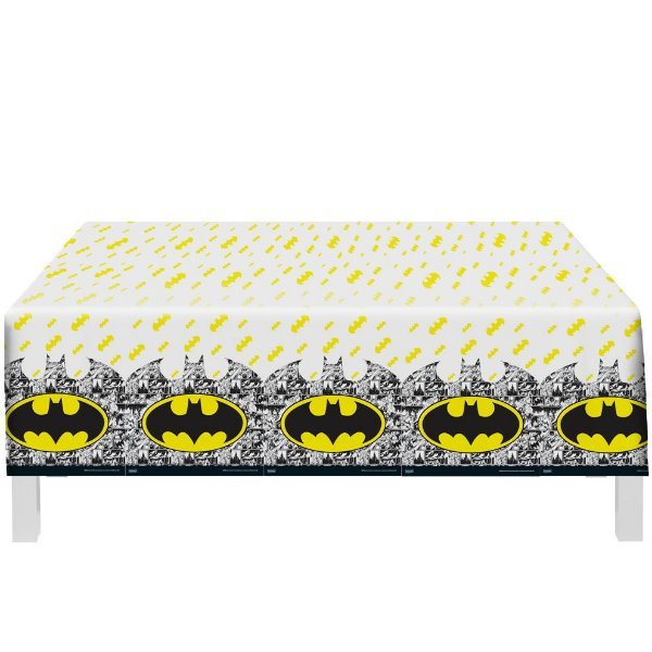Toalha De Mesa Festa Batman - 01 unidade - Festcolor - Rizzo Festas