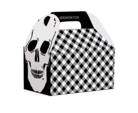 Caixa Maleta Kids Festa Skull M - 10 unidades - Cromus - Rizzo Festas