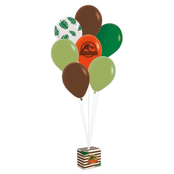 Kit Balões Festa Dinossauro - Cromus - Rizzo Festas