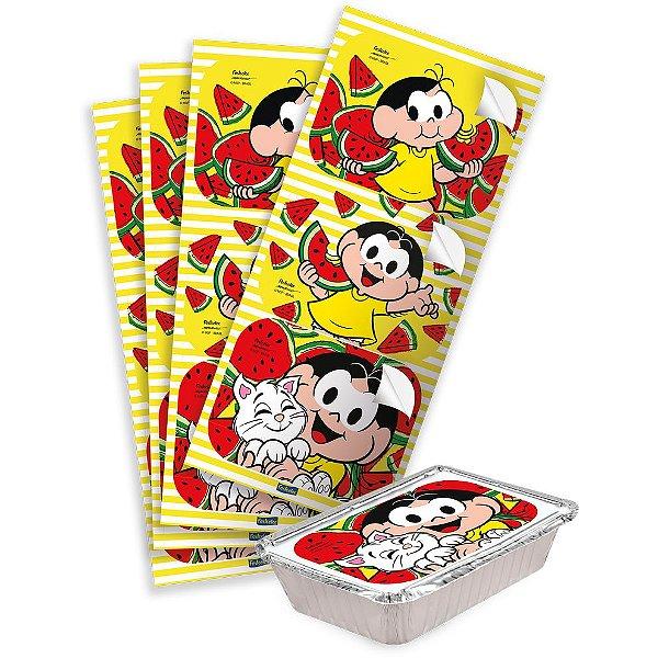 Adesivo Rentagular para Lembrancinha Festa Magali - 12 unidades - Festcolor - Rizzo Festas
