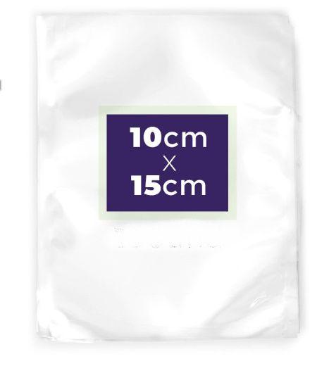 Saco Transparente a Vácuo 10x15cm - Rizzo Embalagens