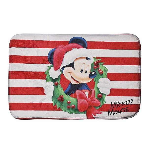 Tapete Mickey Guirlanda 40cm - 01 unidade Natal Disney - Cromus - Rizzo Embalagens