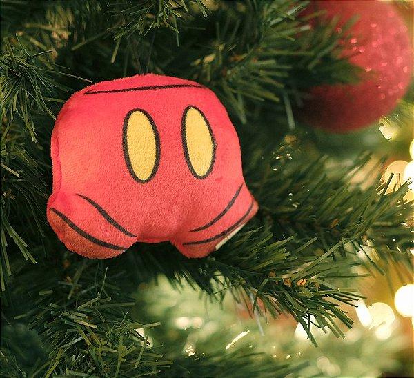 Enfeite para Pendurar Calça do Mickey 10cm - 01 unidade Natal Disney - Cromus - Rizzo Embalagens