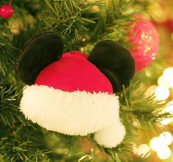 Enfeite para Pendurar Gorro do Mickey 15cm - 01 unidade Natal Disney - Cromus - Rizzo Embalagens