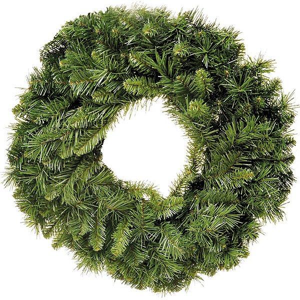Guirlanda 60cm Verde 180 hastes - 01 unidade - Cromus Natal - Rizzo Embalagens