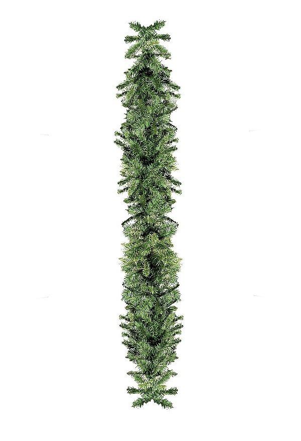 Festão Amarado Verde 270cm - 01 unidade - Cromus Natal - Rizzo Embalagens
