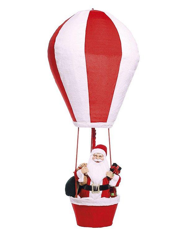 Noel Decorativo no Balão 150cm - 01 unidade - Cromus Natal - Rizzo Embalagens