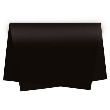Papel de Seda Preto - 50x70cm - Rizzo Embalagens