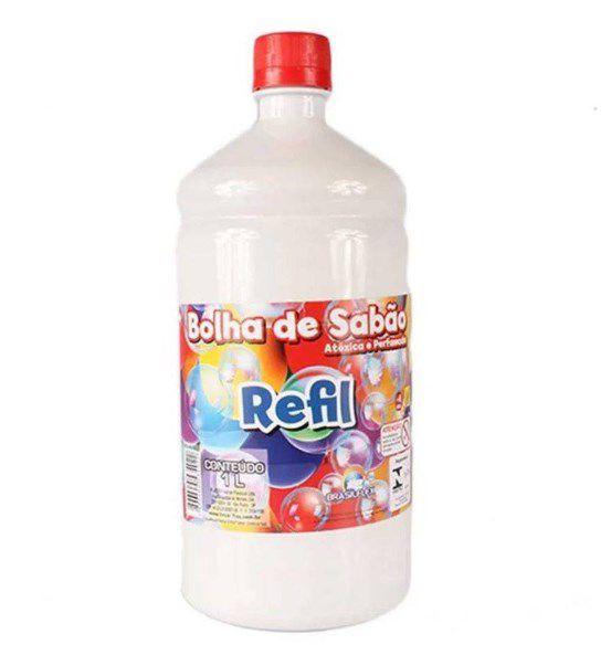 Liquido Refil Para Bolha De Sabão 1L - Rizzo Festa