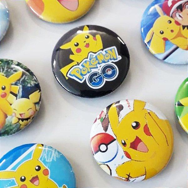 Bottom para Lembrancinha Festa Pokemon - 12 unidades - Rizzo Embalagens