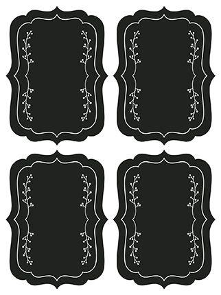 Etiqueta Adesiva Lousa Moldura - LitoArte - 4 unidades - Rizzo Embalagens