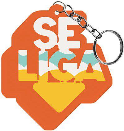 Chaveiro Decorativo MDF Se Liga -  LitoArte - Rizzo Embalagens