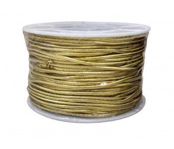 Cordão Ouro Elástico 50 metros - Merita - Rizzo Embalagens