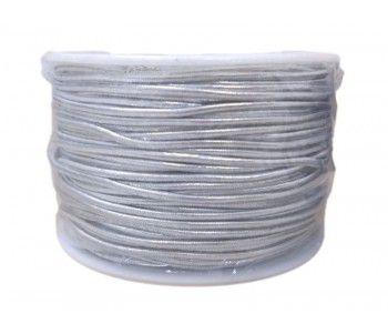 Cordão Prata 1,0mm x 50 metros - Merita - Rizzo Embalagens