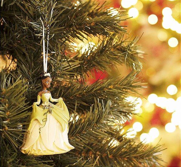 Enfeite para Pendurar Princesa Tiana 10cm - 01 unidade - Natal Disney - Cromus - Rizzo Embalagens