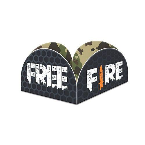 Porta Forminha - Festa Free Fire - 40 Unidades - Junco - Rizzo Festas