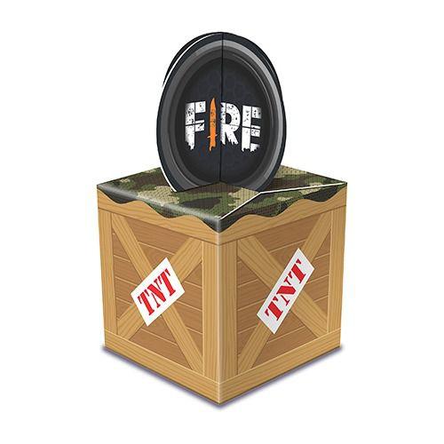 Caixa Para Lembrancinhas - Festa Free Fire - 08 Unidades - Junco - Rizzo Festas