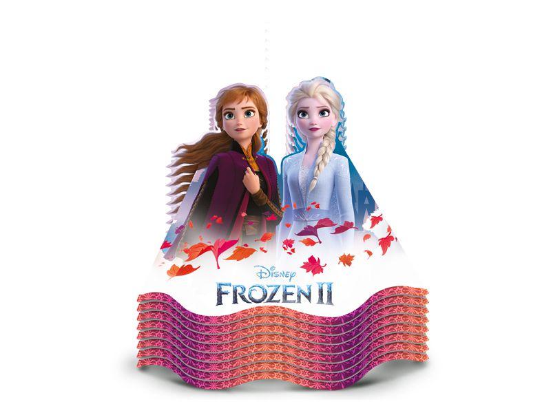Chapéu Festa Frozen 2 - 08 unidades - Regina - Rizzo Festas