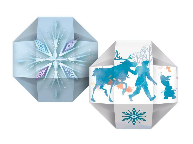 Caixa Surpresa Festa Frozen 2 - 08 unidades - Regina - Rizzo Festas