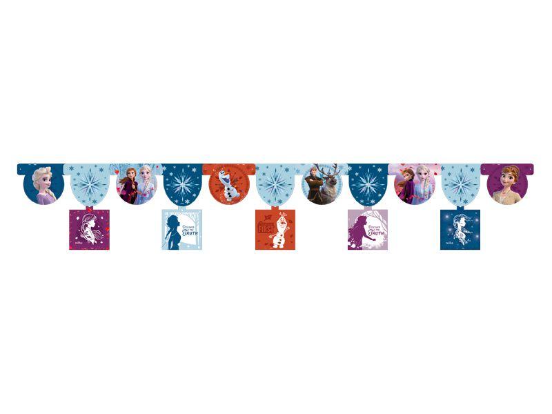 Faixa decorativa Festa Frozen 2 - 01 unidade - Regina Festas - Rizzo Festas