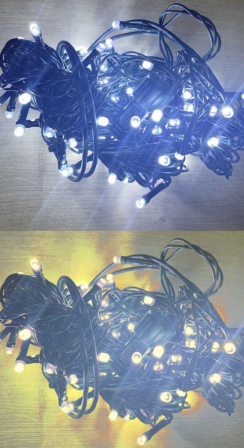 Cordão Led Fio Verde 10m - 01 unidade - Natal Rizzo Embalagens