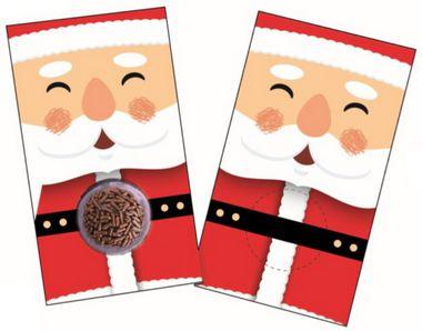 Cartão Blister Natal Noel Ref. 779 - 10 unidades - Erika Melkot Rizzo Embalagens