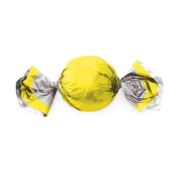 Papel Trufa 14,5x15,5cm - Neon Amarelo - 75 unidades - Cromus - Rizzo Embalagens