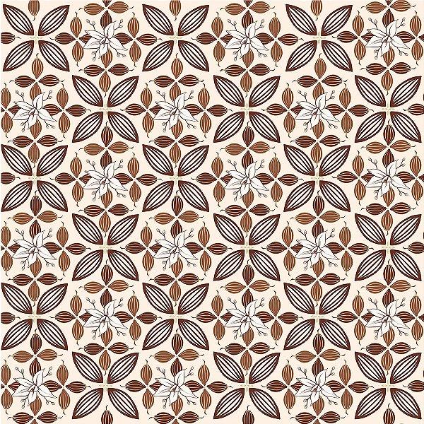 Folha para Ovos de Páscoa Flor de Cacau Marfim 69x89cm - 05 unidades - Cromus Páscoa - Rizzo Embalagens