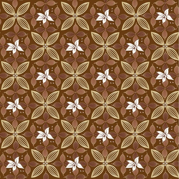 Folha para Ovos de Páscoa Flor de Cacau Marrom 69x89cm - 05 unidades - Cromus Páscoa - Rizzo Embalagens