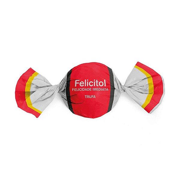 Papel Trufa 14,5x15,5cm - Felicitol - 100 unidades - Cromus - Rizzo Embalagens