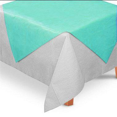 Toalha de Mesa Quadrada Cobre Mancha em TNT (70cm x 70xm) Tiffany - 5 unidades - Best Fest - Rizzo Embalagens