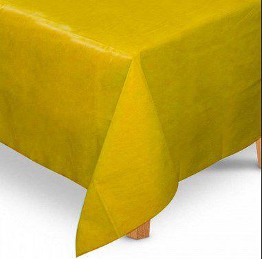 Toalha de Mesa Quadrada em TNT (1,00m x 1,00m) Amarela 5 unidades - Best Fest - Rizzo Embalagens