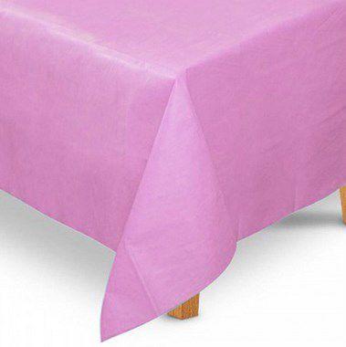 Toalha de Mesa Quadrada em TNT (1,00m x 1,00m) Rosa Claro 5 unidades - Best Fest - Rizzo Embalagens