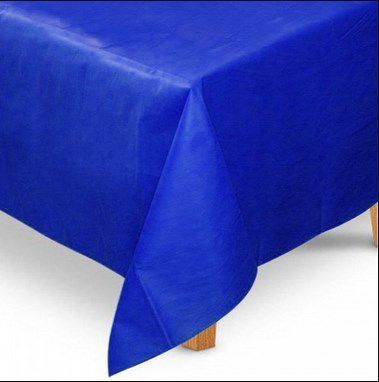Toalha de Mesa Quadrada em TNT (1,00m x 1,00m) Azul Royal 5 unidades - Best Fest - Rizzoembalagens