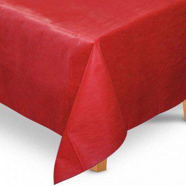 Toalha de Mesa Quadrada em TNT (1,00m x 1,00m) Vermelha 5 unidades - Best Fest - Rizzoembalagens