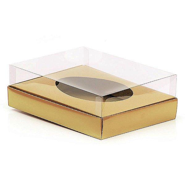 Caixa Ovo de Colher - Meio Ovo de 1Kg - 28,5cm x 21,5cm x 9cm - Kraft - 5unidades - Assk - Páscoa Rizzo Embalagens