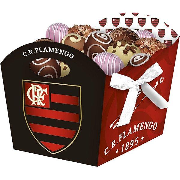 Cachepot Festa Flamengo - 08 unidades - Festcolor - Rizzo Festas