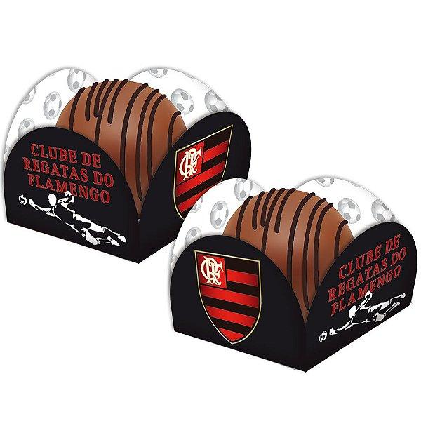 Porta Forminha para Doces Festa Flamengo - 50 unidades - Festcolor - Rizzo Festas