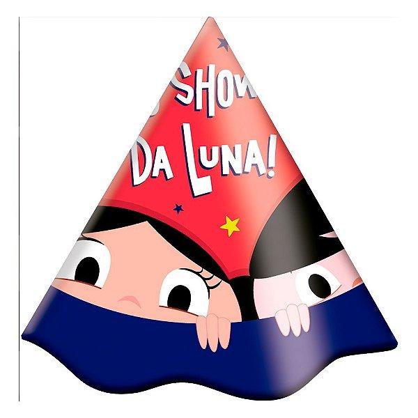 Chapéu Festa Show da Luna - 08 unidades - Festcolor - Rizzo Festas