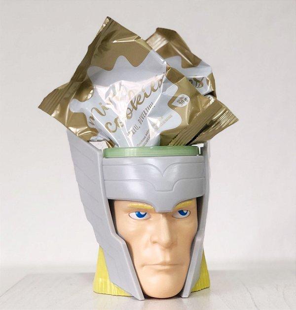 Kit Caneca 3D com Cookies - Thor - 01 unidade - Cromus - Rizzo Embalagens