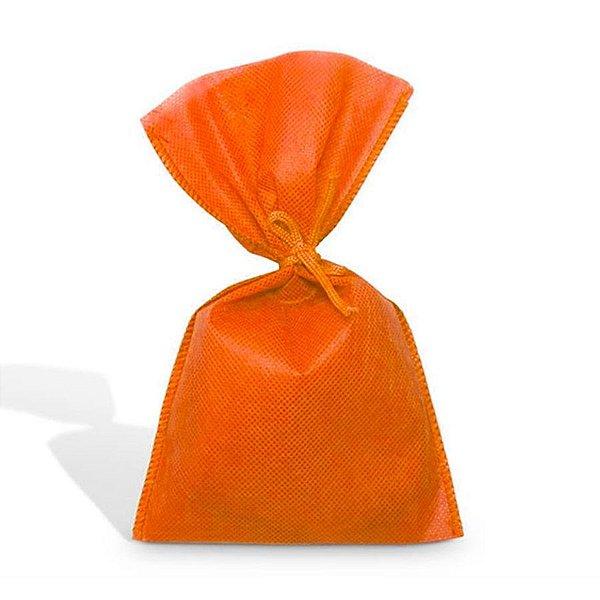 Saco em TNT (1,00m x 1,40m) Laranja - 01 unidade - Best Fest - Rizzo Embalagens