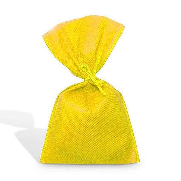 Saco em TNT (1,00m x 1,40m) - Amarelo - 01 unidade - Best Fest - Rizzo Embalagens